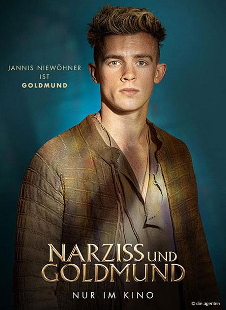Kinostart Narziss und Goldmund, Hauptrolle Jannis Niewöhner