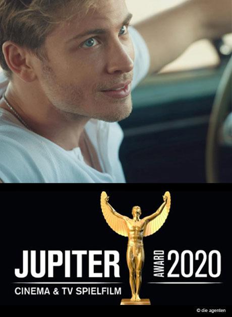 Auszeichnung Jupiter Award für Jannik Schümann
